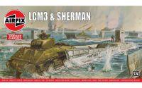 Classic Kit VINTAGE military A03301V - LCM3 & Sherman Tank (1:76)