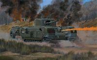 Classic Kit VINTAGE tank A02321V - Churchill Crocodile (1:76)