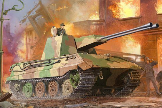 German E-75 Flakpanzer Trumpeter