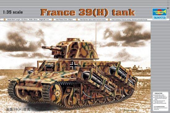 1:35 France 39(H) TANK SA 38 37mm gun Trumpeter