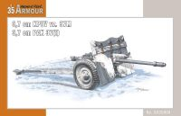 kanón 3,7 cm KPUV vz.37M / 3,7 cm Pak M 37 (t) 1/35