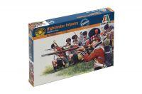 Model Kit figurky 6004 - NAPOL. WARS: HIGHLANDER INFANTRY (1815) (1:72)