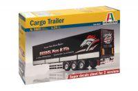 Model Kit návěs 3885 - CARGO TRAILER (1:24)