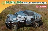 Model Kit military 7446 - Sd.Kfz.260 KLEINER PANZERFUNKWAGEN (1:72)