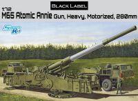Model Kit military 7484 - M65 ATOMIC ANNIE GUN HEAVY MOTORIZED 280mm (Smart Kit) (1:72)