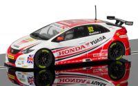 Autíčko Circuit SCALEXTRIC C3783 - BTCC Honda Civic Type R - Gordon Shedden 2015 (1:32)