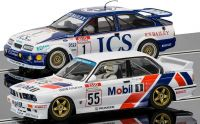 Autíčko Limited Edition SCALEXTRIC C3693A - Touring Car Legends - Ford Sierra RS500 vs BMW E30 (1:32)