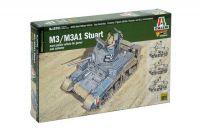 Wargames tank 15761 - M3/M3A1 Stuart (1:56)