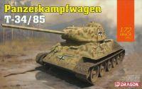 Model Kit tank 7564 - Panzerkampfwagen T-34/85 (1:72)