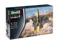 Plastic ModelKit raketa 03309 - German A4/V2 Rocket (1:72)