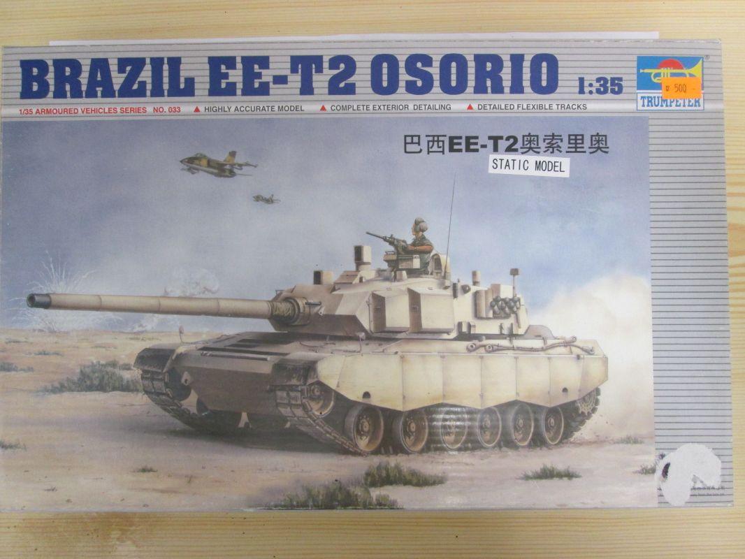 Brazil EE-T2 Osorio 1:35 Trumpeter