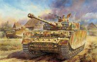 Model Kit tank 6300 - Pz.Kpfw.IV Ausf.H LATE PRODUCTION (SMART KIT) (1:35)