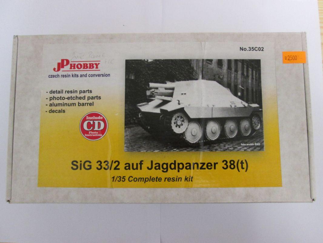 SiG 33/2 auf Jagdpanzer 38(t) 1:35 JP Hobby