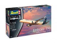 Modelset letadlo 63883 - Embraer 190 Lufthansa (1:144)