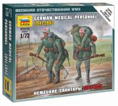 Wargames (WWII) figurky 6143 - German Medical Personnel 1941-43 (1:72)