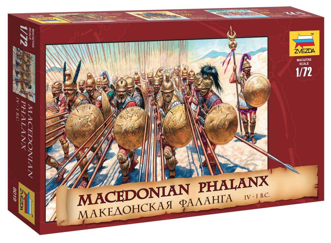 Wargames (AoB) figurky 8019 - Macedonian Phalanx (1:72) Zvezda
