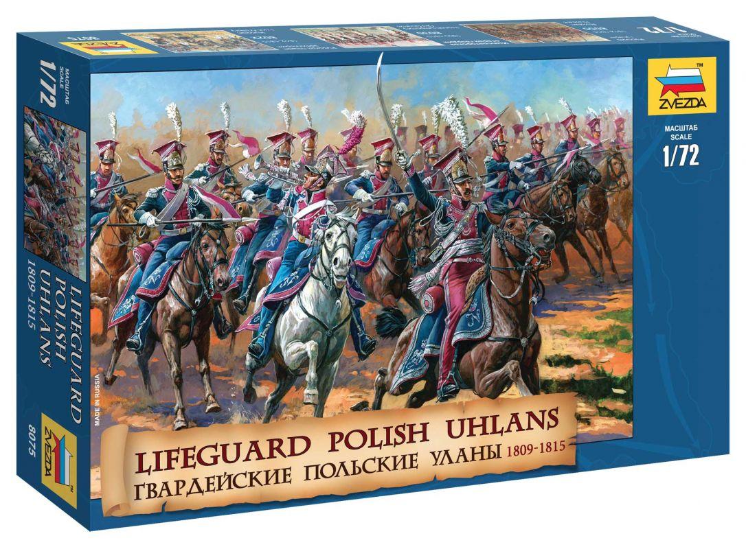 Wargames (AoB) figurky 8075 - Polish Uhlans (1:72) Zvezda