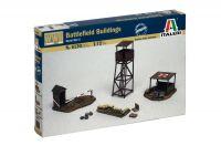 Model Kit budova 6130 - BATTLEFIELD BUILDINGS (1:72)