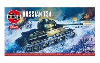 Classic Kit VINTAGE tank A01316V - Russian T34 Medium Tank (1:76)