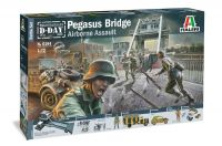 Model Kit diorama 6194 - Pegasus Bridge Airborne Assault (1:72)